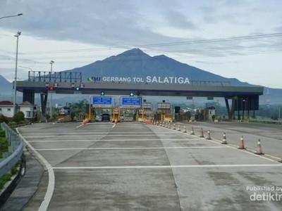 Pemandangan Cantik Sepanjang Tol Semarang-Salatiga