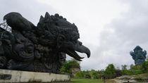 Melihat Salah Satu Patung Terbesar Dunia di Pulau Dewata