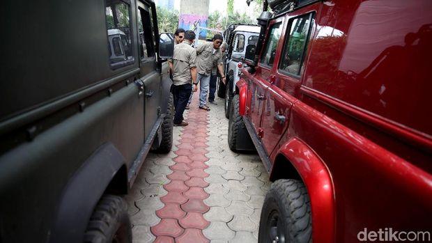 Pencinta Land Rover di Indonesia