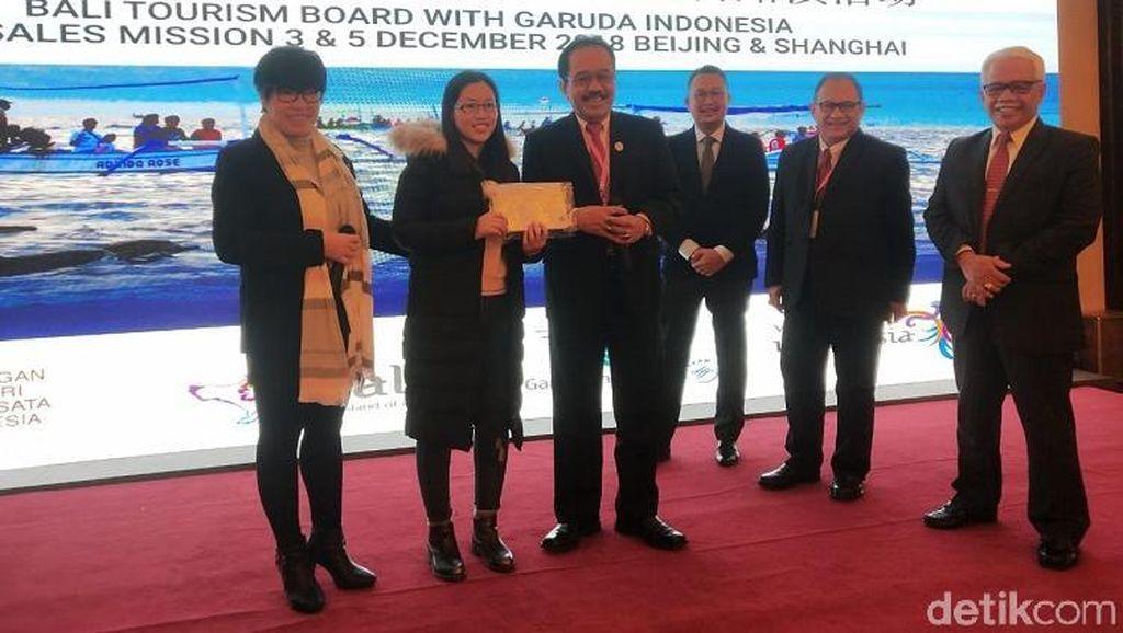 Terbang ke China, Wagub Bali Jaring Wisatawan Asal Beijing-Shanghai
