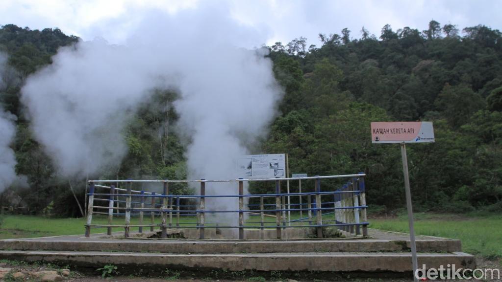Foto: Kawah di Bandung yang Suaranya Seperti Kereta Api