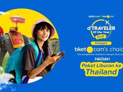 Ayo Ikut! Lomba Nulis Berhadiah Liburan ke Thailand dari tiket.com