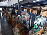 Tiga Tahun Diresmikan, Pasar 'Keren' Sarijadi Masih Sepi Melompong