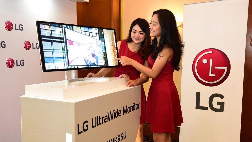 Dua Monitor 5K LG Sasar Pekerja Kreatif Indonesia