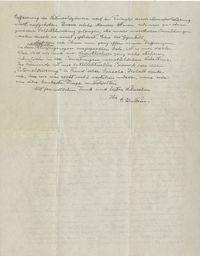 Halaman kedua 'Surat Tuhan' yang ditulis Albert Einstein.