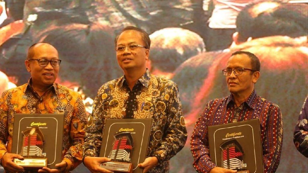 Efektif Cegah Gratifikasi, Kementan Raih Penghargaan KPK