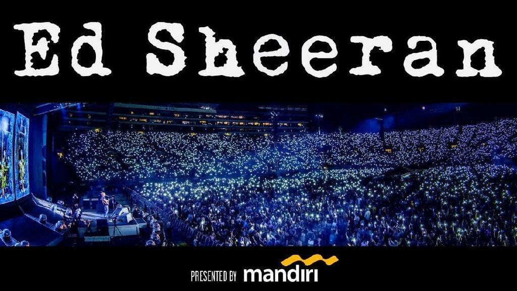 Sempat Bermasalah, Pembelian Tiket Konser Ed Sheeran Kembali Normal