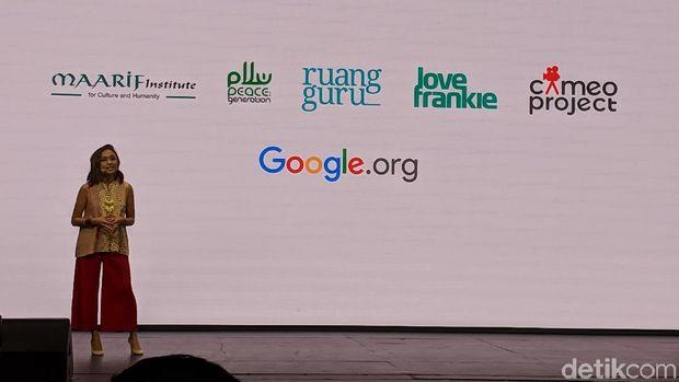 Veronica Utami, Head of Marketing Google Indonesia.