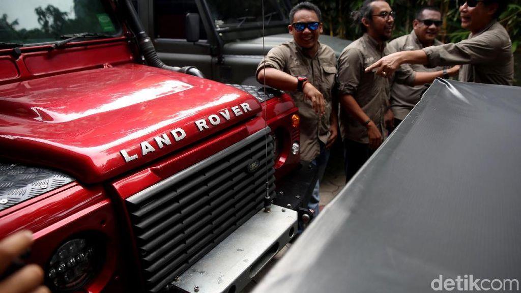 Ratusan Pemilik Land Rover Bakal Kumpul di Kaki Gunung Gede