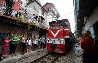 Rel ini masih aktif dilewati kereta (AFP/Getty Images)