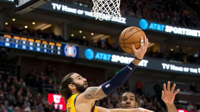 Utah Jazz kalahkan San Antonio Spurs (Russ Isabella-USA TODAY Sports)