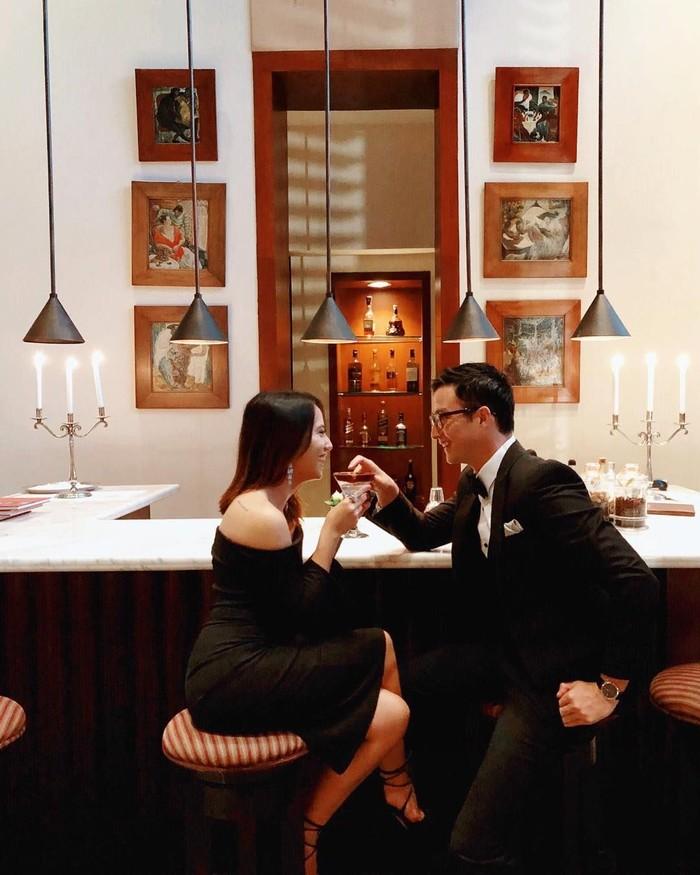 Kali ini Mike bahkan sudah menunjukkan keseriusannya pada Janisaa. Dalam berbagai momen, mereka sering terlihat bersama. Foto: instagram @janisaas