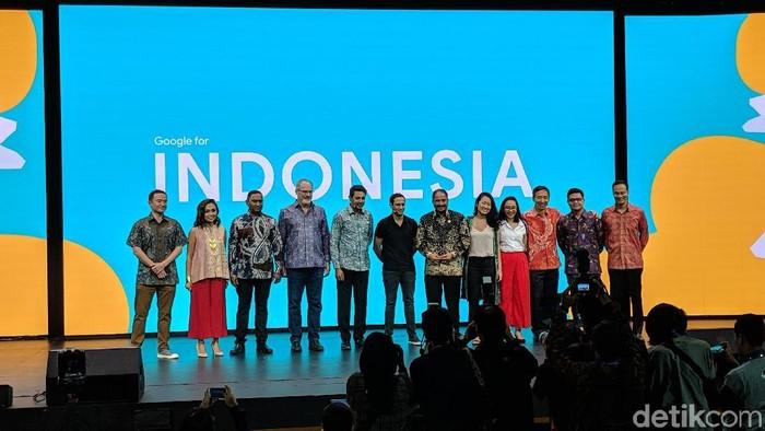 Google for Indonesia. Foto: Adi Fida Rahman/detikINET