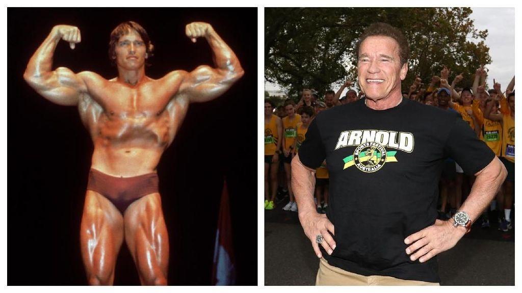 Foto: Transformasi Si Kekar Terminator Arnold Schwarzenegger