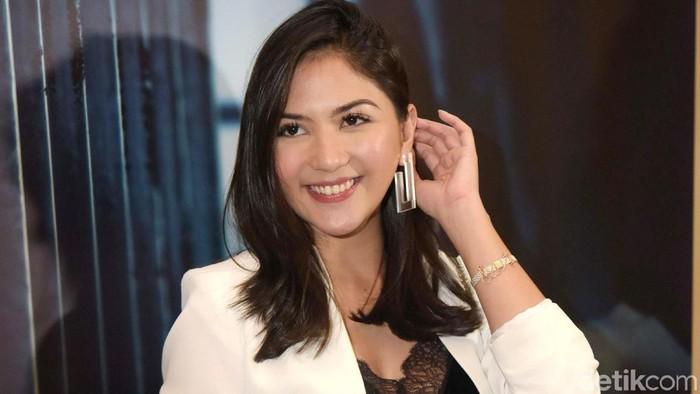 Jessica Mila saat ditemui di kawasan Cikini.