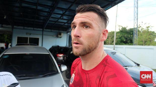 Marko Simic bakal jadi andalan Persija untuk menggedor pertahanan Mitra Kukar.