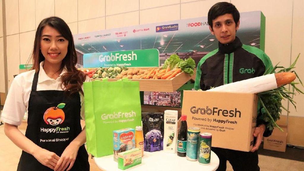 GrabFresh Tawarkan Kemudahan Berbelanja Bebas Repot