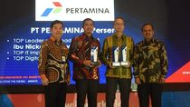 Dirut Pertamina Terpilih Jadi TOP Leader in IT Leadership 2018