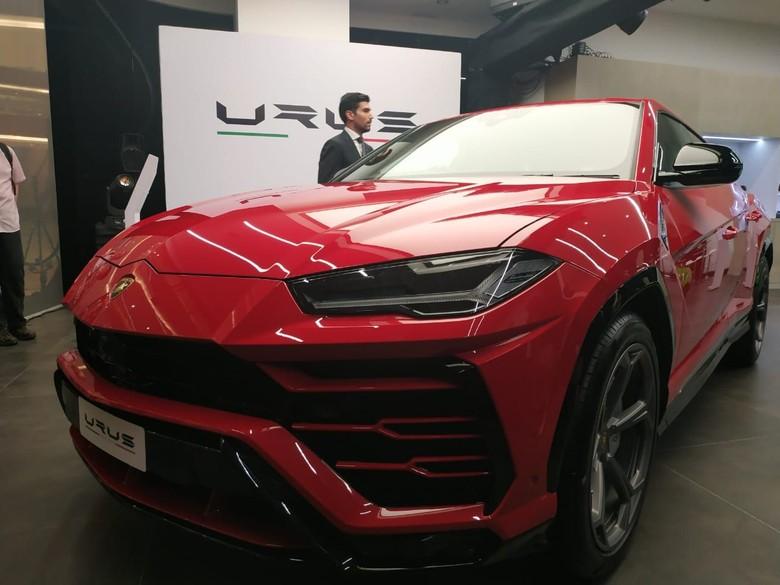 Lamborghini Urus. Foto: Ridwan Arifin
