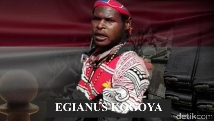 Foto: Egianus Kogoya. (Dokumen Mabes Polri yang diterima detikcom)