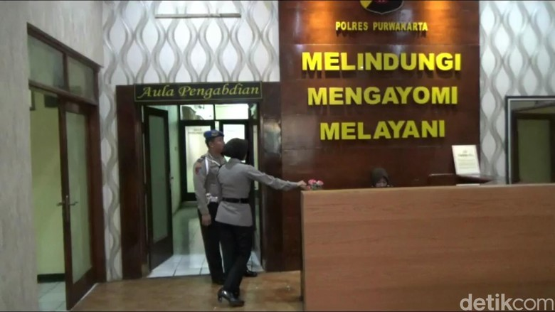 KPK Periksa Pejabat Perum Jasa Tirta di Mapolres Purwakarta
