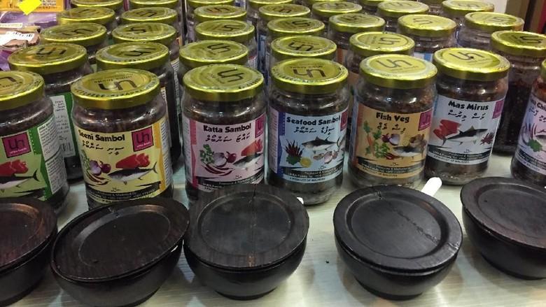 Oleh-oleh sambal khas Maldives (Kurnia/detikTravel)