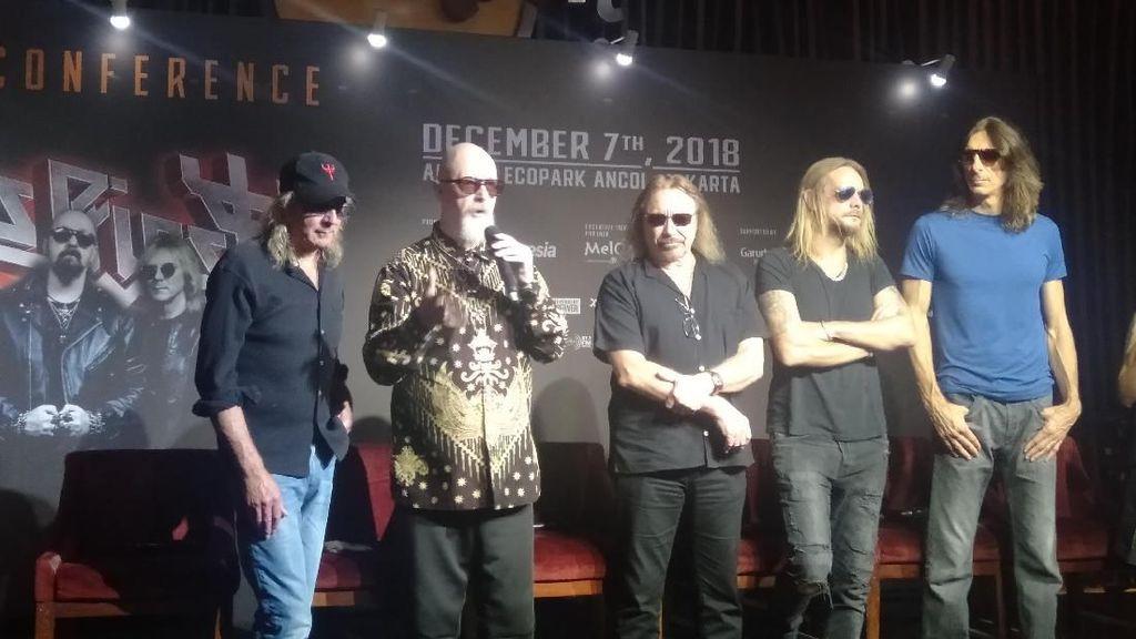 Promotor Bicara Riders Hingga Kendala Hujan di Konser Judas Priest