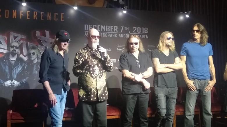 Vokalis Judas Priest Harap Jokowi Hadir ke Konsernya