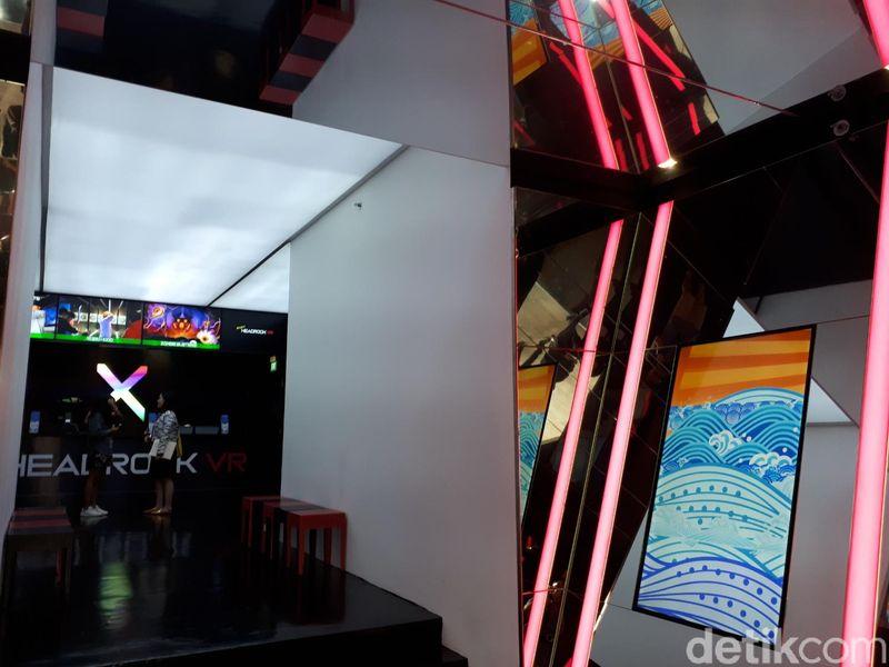 Lokasinya ada di Resorts World Sentosa. Tepatnya, persis di dekat Universal Studios Singapore (Afif Farhan/detikTravel)