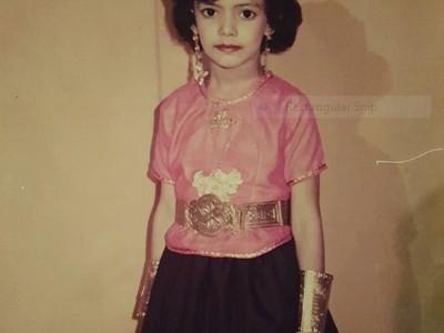 Potret Manisnya Najwa Shihab Saat Masih Kecil