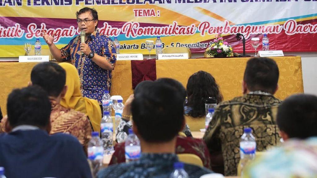 ASN Kabupaten Serang Dapat Ilmu Jadi Wartawan