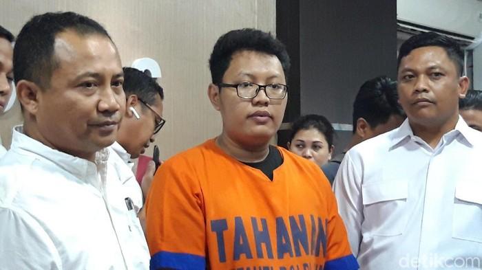 M Yusuf, mahasiswa S2 yang ditangkap karena menyebarkan video bugil enam mantan pacar. (Hilda Meilisa Rinanda/detikcom)