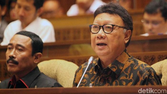 Mendagri Tjahjo Kumolo (Foto: Lamhot Aritonang)
