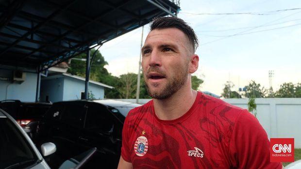 Marko Simic mengakui amat mengagumi sosok Luka Modric. (