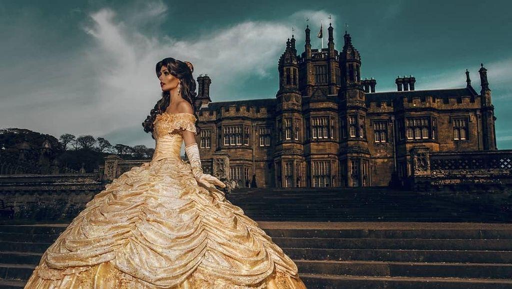 Potret Wanita Cantik yang Hidup Seperti Putri Disney