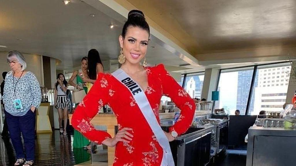 Kulit Tampak Mulus, Wajah Kontestan Miss Universe Ini Ternyata Rusak