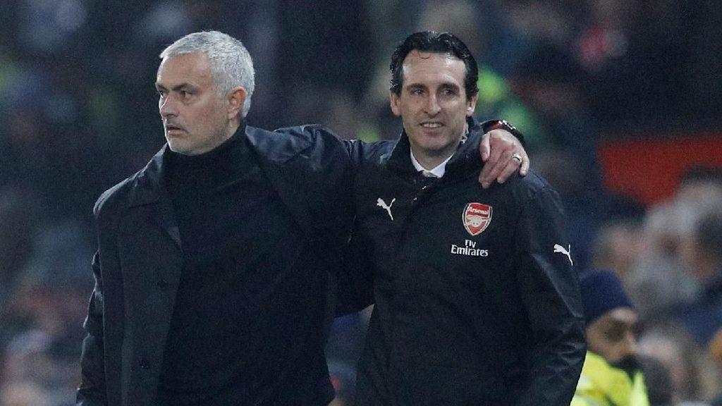 Emery: Pemecatan Mourinho Bukan Kabar Bagus untuk Pelatih Lainnya