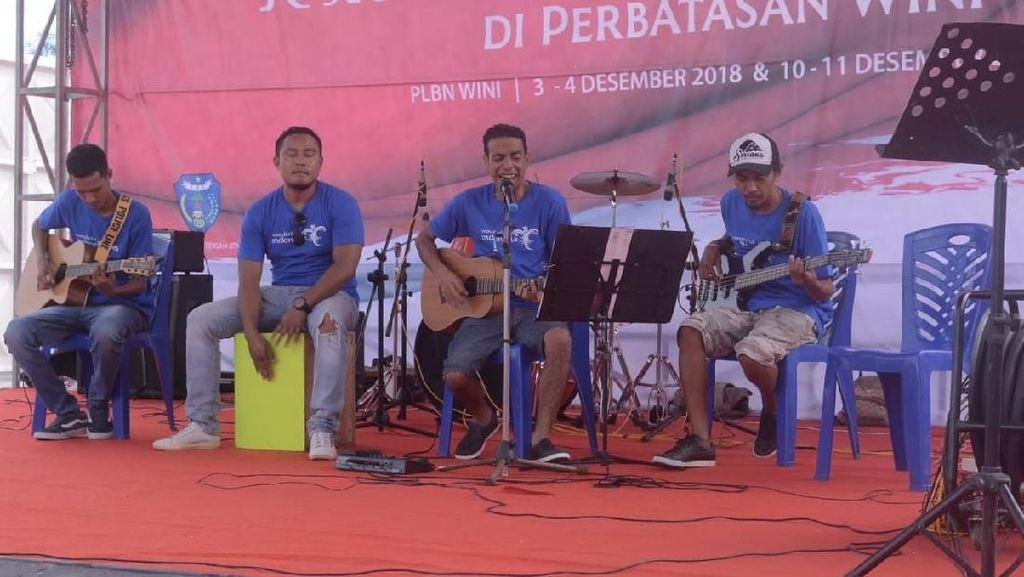 Lagu Kolam Susu Ajak Pengunjung Festival Wini Jelajahi NTT