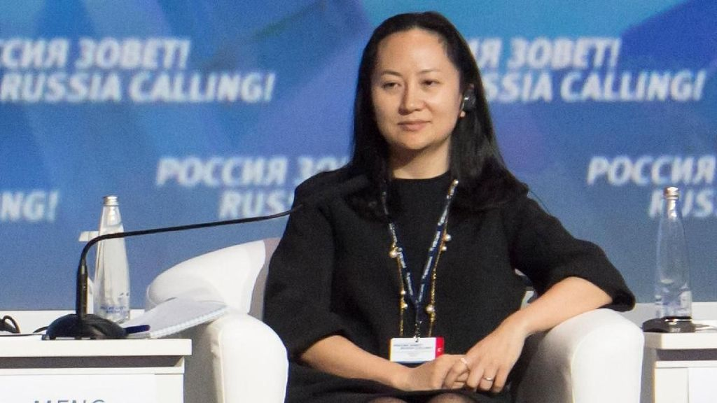 AS Serius Upayakan Ekstradisi Petinggi Huawei dari Kanada