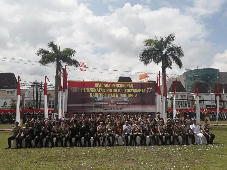 Kapolri Resmikan Polda Yogyakarta Jadi Tipe A