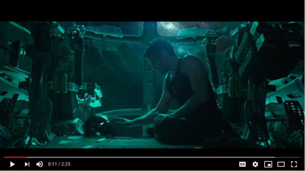 Efek Trailer Avengers: Endgame, Penggemar Minta NASA Selamatkan Stark