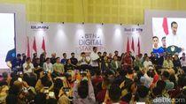 Jokowi ke Pelaku Startup: Jangan Hanya Bertumpu di Online