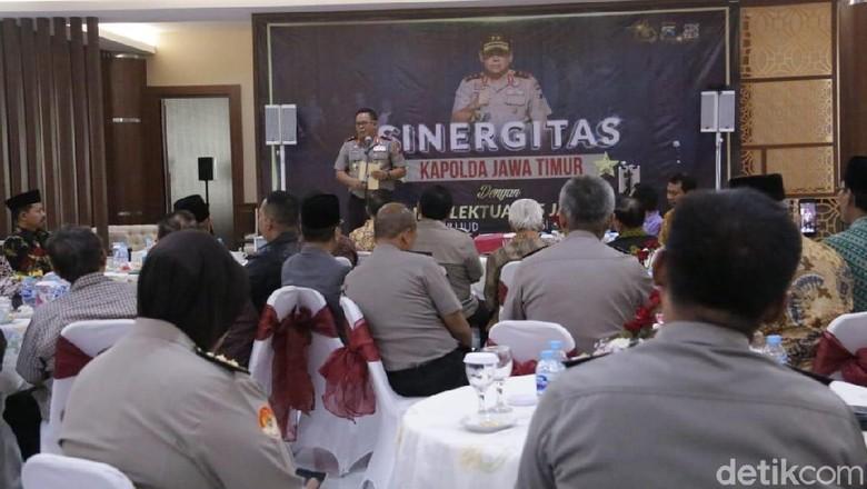 Kapolda Jatim Ajak Akademisi dan Rektor Jaga Situasi Kondusif