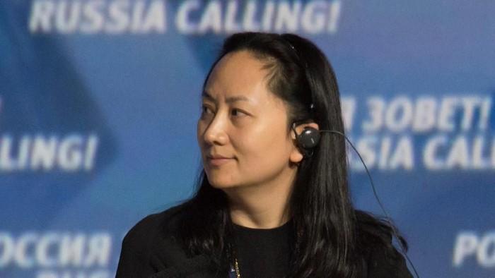 Bos Huawei Meng Wanzhou yang kini masih ditahan di Kanada. (Foto: REUTERS/Alexander Bibik)