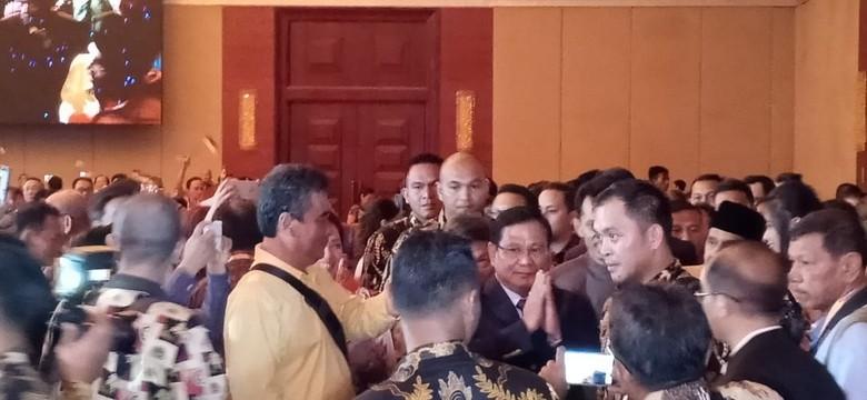 Prabowo Hadiri Ramah Tamah Bareng Masyarakat Tionghoa