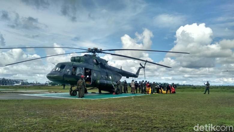 7 Kantong Jenazah Korban Penembakan KKB Tiba di Timika
