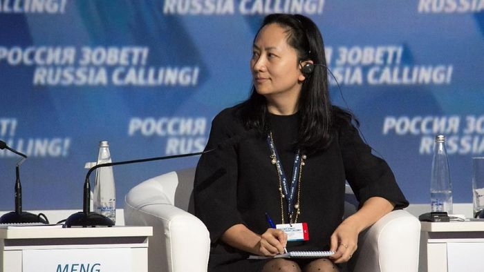 Bos Huawei Ditangkap