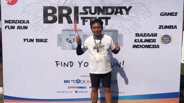 Direktur Hubungan Kelembagaan Bank BRI Sis Apik Wijayanto