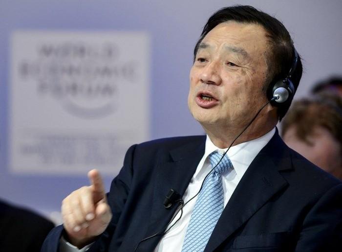 Ren Zhengfei. Foto: AFP PHOTO / FABRICE COFFRINI