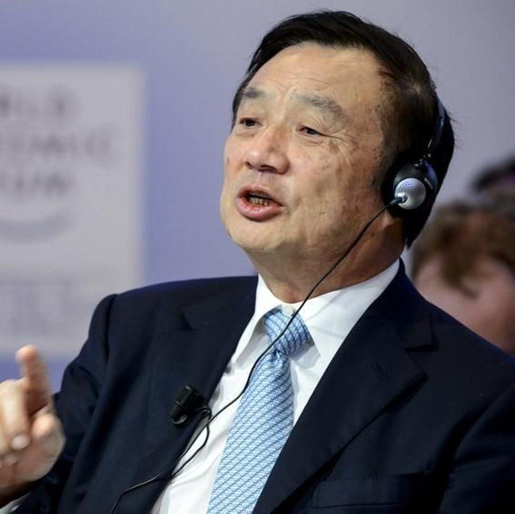 Pendiri Huawei Buka-bukaan Soal Perseteruan dengan AS